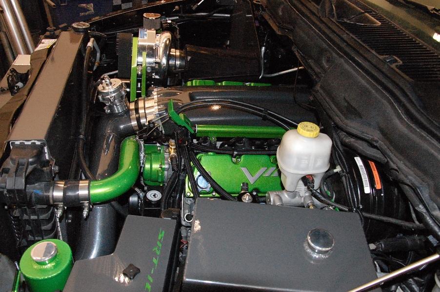JMB SRT-10 RAM Procharger F1 DIY Kit