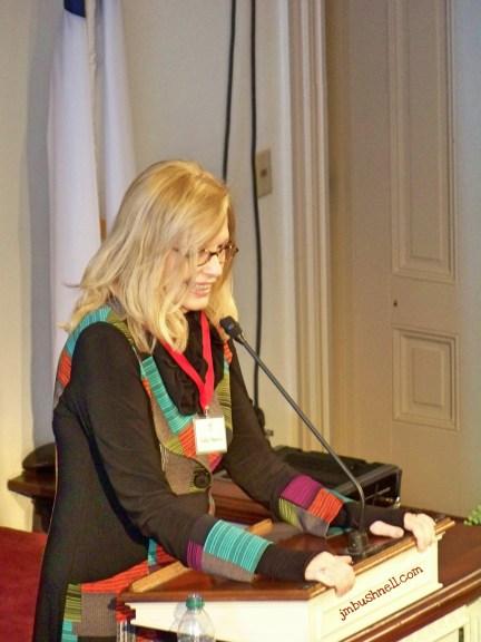 Anita Shreve in Savannah, Georgia