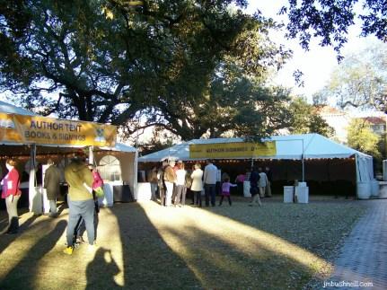 Author Signing Tent- Savannah, Georgia