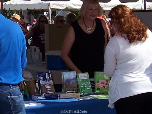 Readers Shop for Books at the Festival