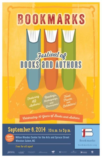 Bookmarks Festival Poster