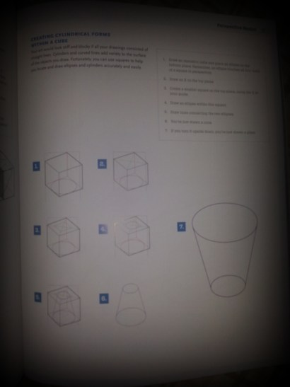 Perspective exercises in the book.