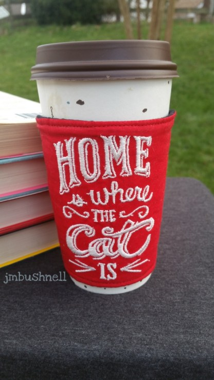 Home Is Where the Cat Is on a Cup
