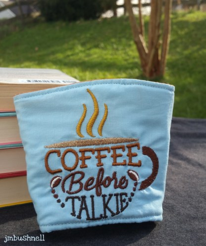 coffee before talkie coffee cozy