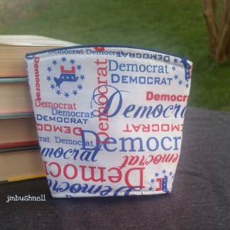 Democrat Cozy to Go Cup Wrap
