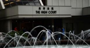 無綫電視向高等法院提出司法覆核,要求法庭頒令禁止行政會議發出新免費電視牌照。(黃雯娟攝)