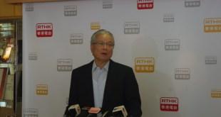 方剛表示,需在內地加強推廣,提高香港在內地形象。(吳潔璇攝)