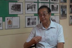 64歲的邱偉基是香港土生土長的華籍英兵,服役長達26年。(影片截圖)