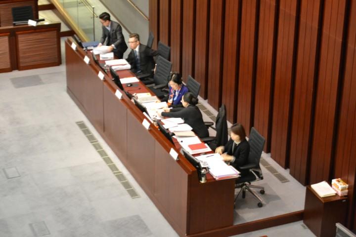 一地兩檢條例草案委員會主席葉劉淑儀表示 , 下次會進行逐步條文審議。(吳曉儀攝)