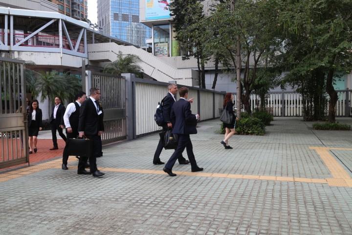 沙中綫紅磡站獨立調查委員會昨日於前荃灣裁判法院展開第25天聆訊。(黃雯昕攝)