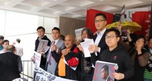 曾健成質疑,鄭若驊企圖包庇作為政協副主席的梁振英,並斥責此舉嚴重損害公眾對香港法治的信心。(盧浩鏘攝)