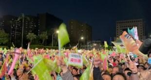 【2020台灣大選】總統候選人把握選戰前夜造勢拉票