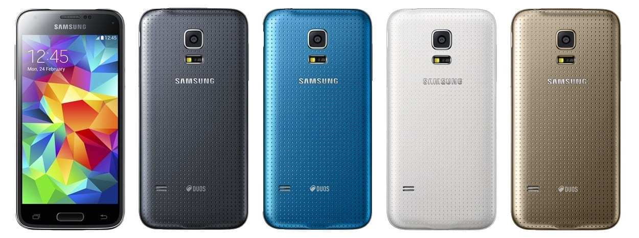 Galaxy S5 mini - a colourful new line-up