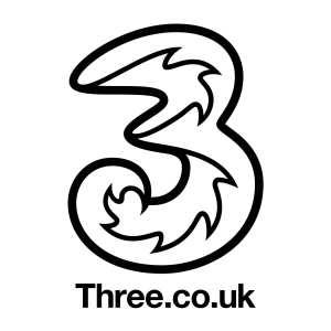 three-logo-black