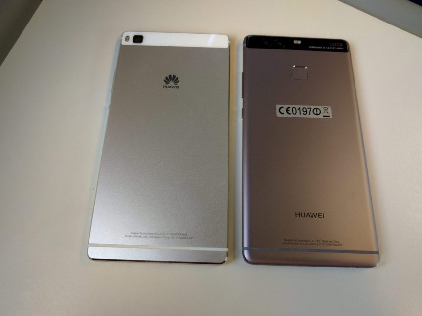 P8 (champagne gold) & P9 (grey)