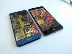 AnTuTu - Honor 8 (left) Huawei P9 (right)
