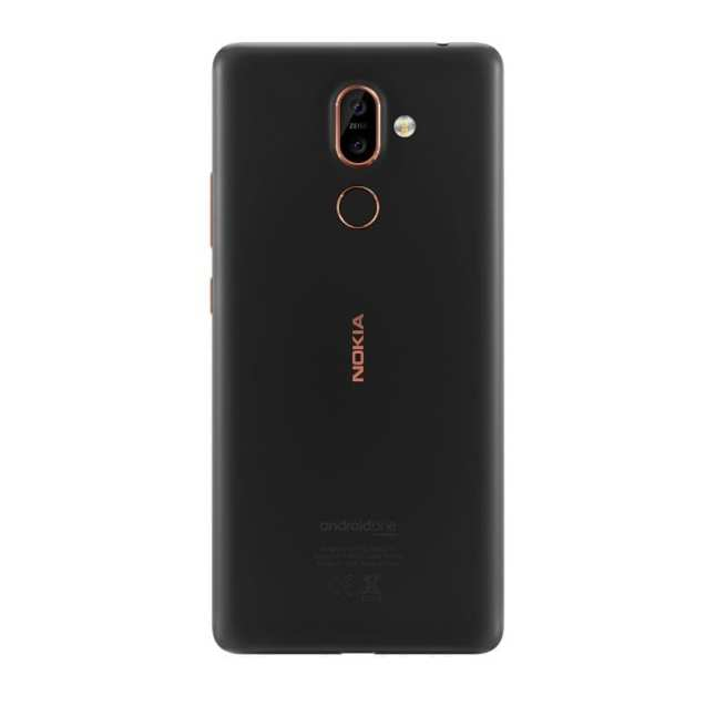 Nokia 7 plus - back