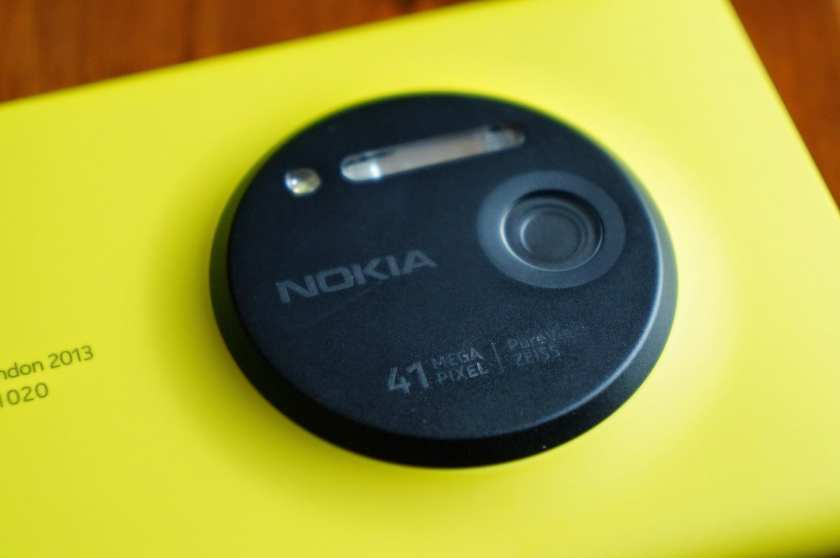 Nokia Lumia 1020 with PureView technology