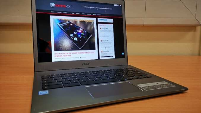 Acer Chromebook 13 review: Announced May 2018, on sale Jan