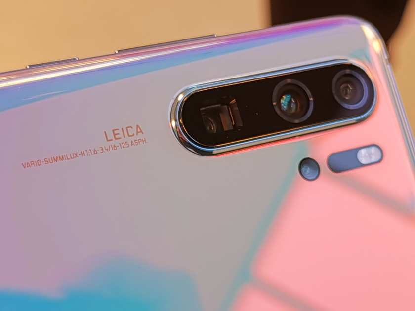 Huawei P30 Pro quad-camera setup