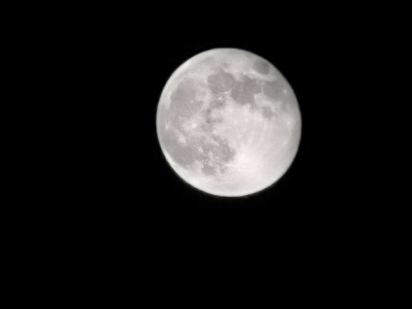The moon at 50x zoom. Huawei featured this on their marketing materials but this was from my own phone.