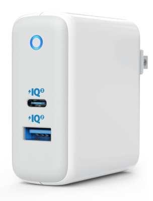 Anker PowerPort+ Atom III with USB A PowerIQ 2 & USB-C PowerIQ 3 technology