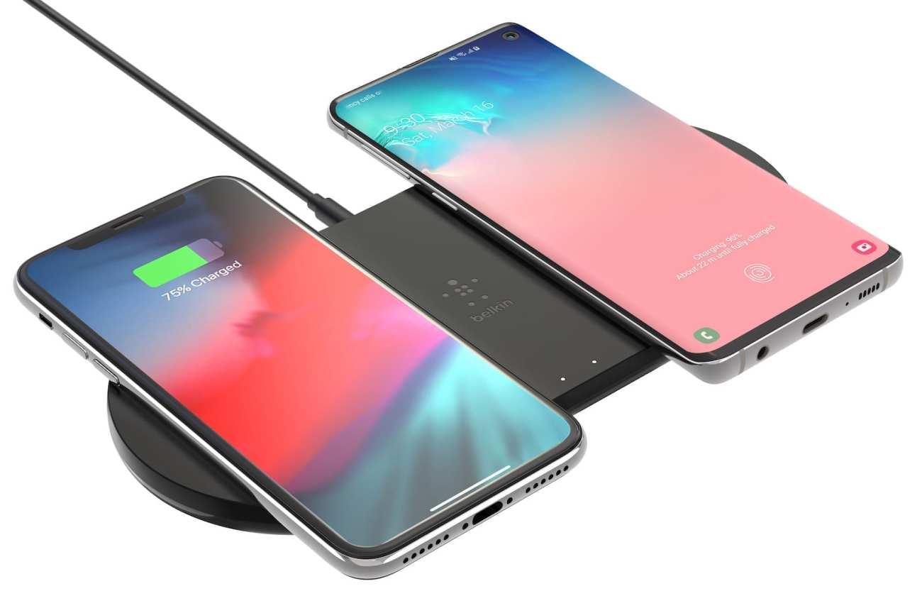 Dual wireless charging pads (10W)
