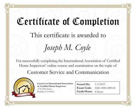 Customer Care Certified