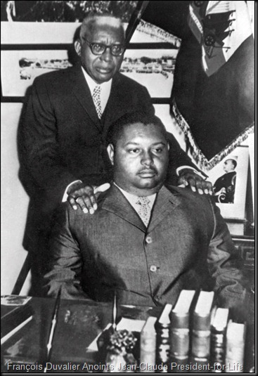 François and Jean-Claude Duvalier