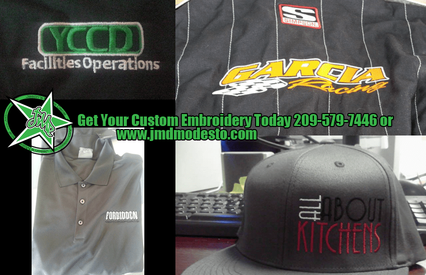 Contract Embroidery Screen Printing And More With Jasons Mobile