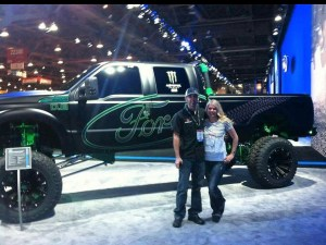 Ford Truck at Sema Car Show