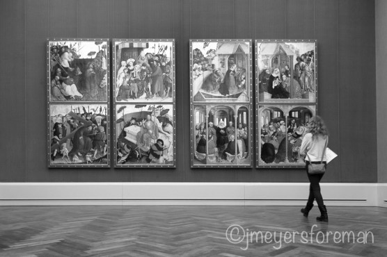 Street Photography in the Museum; copyright jmeyersforeman 2014
