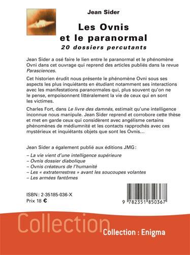 Les Ovnis et le paranormal