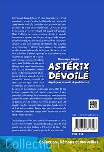 Astérix dévoilé