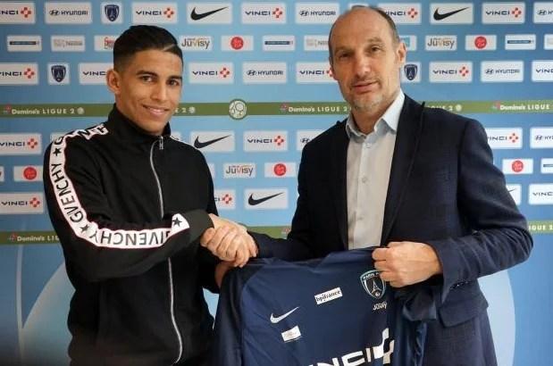 sabir Bougrine JMG paris-FC