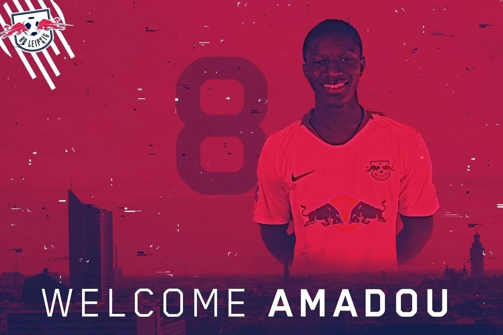 amadou haidara-jmg football management RB LEipzig