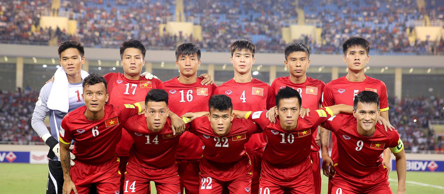 vietnam asian cup national team with jmg academy players