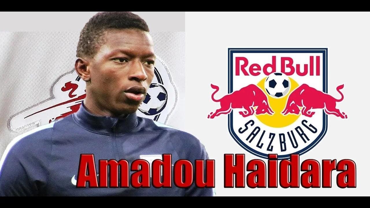 Amadou Haidara Bundesliga FC Leipzig of jmg football management