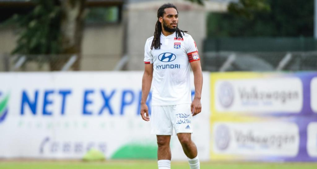 Jason Denayer Capitain of l'Olympique Lyonnais