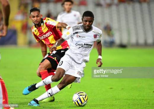 Salis Abdul Samed jmg manegement FC Clermont