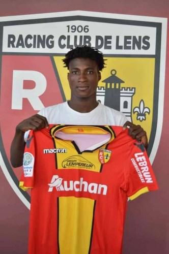 Bourama Diarra JMG academician profesionnal player RC lens