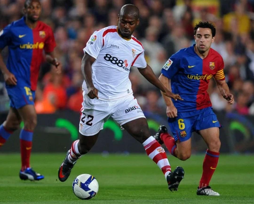 Andres+Iniesta+Ndri+Romaric+Barcelona+v+Sevilla+jmg soccer