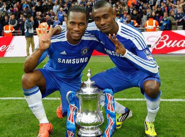 jmg soccer academician salomon Kalou et Drogba champion league Cup Winner