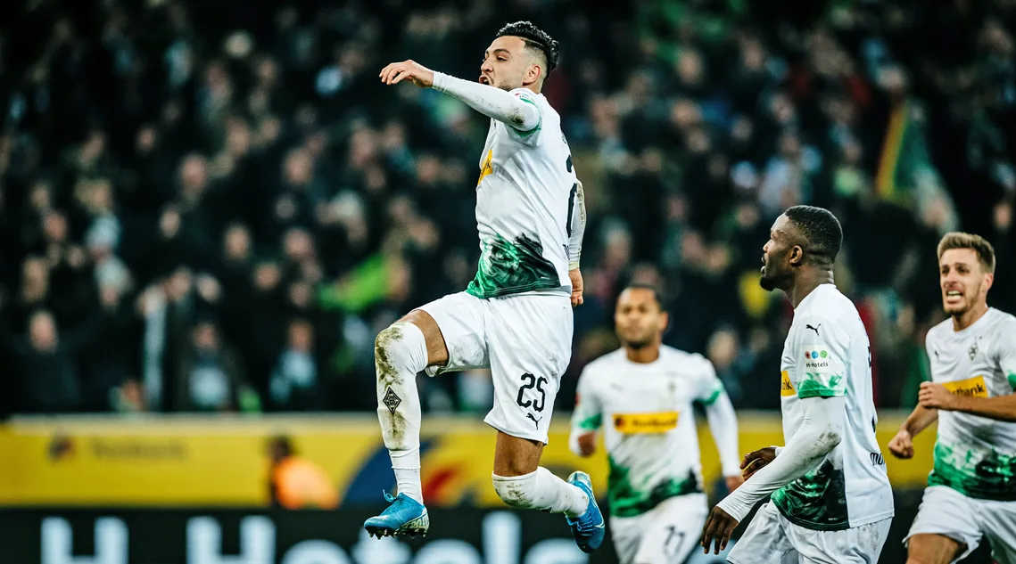 Ramy Bensebaini Borusia Monchengladbach most valuable player 2020