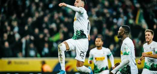Ramy Bensebaini Borusia Monchengladbach most valuable player 2020