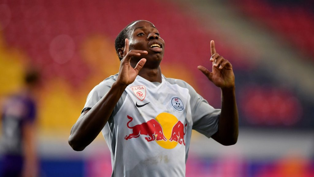 Mohamed Camara from RB Salzburg