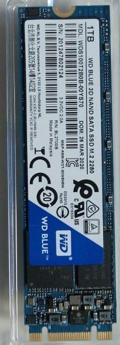 9-DISCO DURO M2 SSD 1TB SATA3 WD BLUE 3D NAND