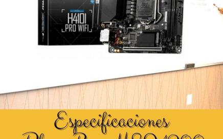Especificaciones Placa Base MSI 1200 H410I PRO WIFI