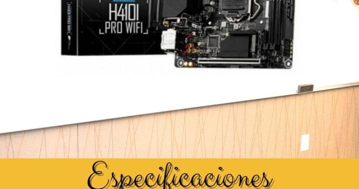 Especificaciones Placa Base MSI 1200 H410I PRO WIFI