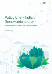 Policy Brief- Indian Renewable Sector, Sep 2019